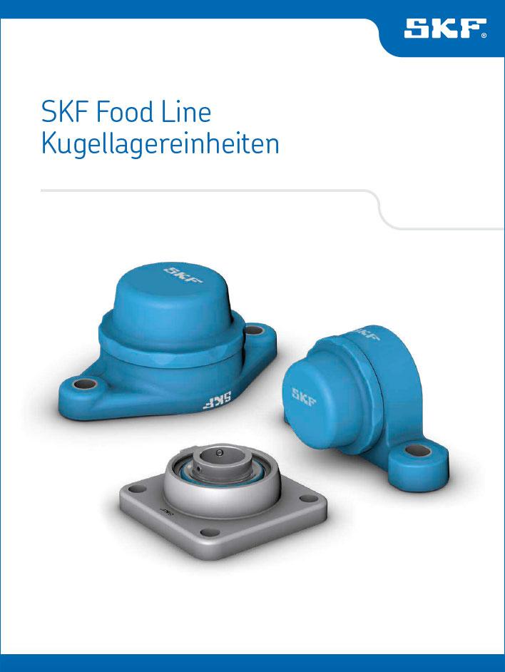 SKF-Food-Line Kugellagereinheiten Katalog